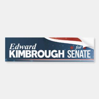 Pegatina Para Coche Edward Kimbrough para el senado