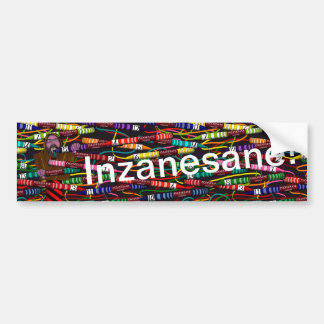 Pegatina Para Coche El creyón de Inzanesane