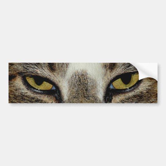 Pegatina Para Coche El ojo de gato
