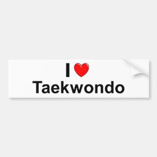 Pegatina Para Coche El Taekwondo