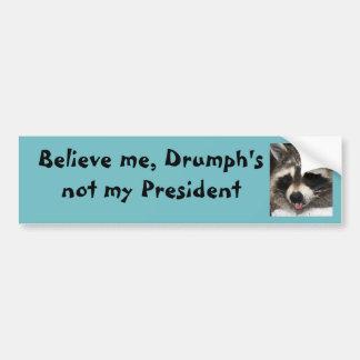Pegatina Para Coche El triunfo no es mi presidente