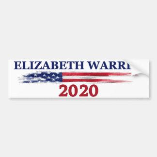 Pegatina Para Coche Elizabeth Warren 2020