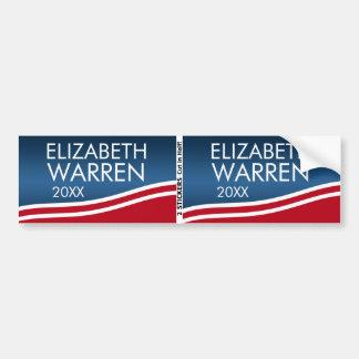 Pegatina Para Coche Elizabeth Warren 2020 BOGO