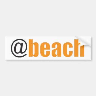 Pegatina Para Coche En la playa