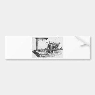 Pegatina Para Coche Ephemeras antiguas del vintage de la herramienta