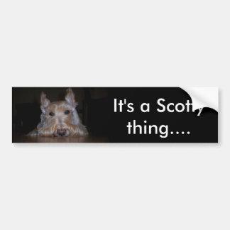 Pegatina Para Coche Es una cosa de Scotty…