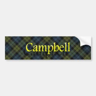 Pegatina Para Coche Escocés de Campbell del clan