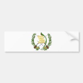 Pegatina Para Coche Escudo de armas de Guatemala - escudo de armas
