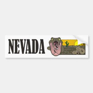 Pegatina Para Coche Estado de la serpiente de Nevada los E.E.U.U.: