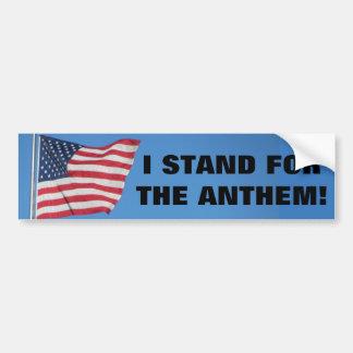 Pegatina Para Coche Estados Unidos me señalan por medio de una bandera