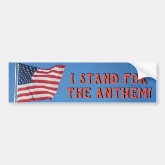 Pegatina Para Coche Estados Unidos señalan el soporte por medio de una