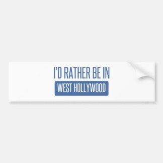 Pegatina Para Coche Estaría bastante en Hollywood del oeste