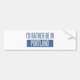 Pegatina Para Coche Estaría bastante en Portland O