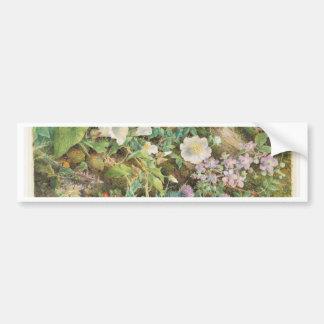 Pegatina Para Coche Estudio de la flor - Juan Jessop Hardwick