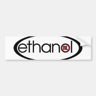 Pegatina Para Coche Etanol - ningún aceite