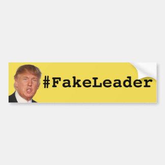 Pegatina Para Coche #FakeLeader - triunfo
