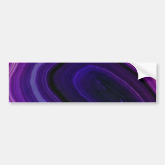 Pegatina Para Coche Falln remolinó Geode púrpura