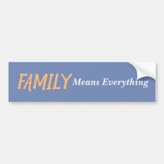 Pegatina Para Coche Familia