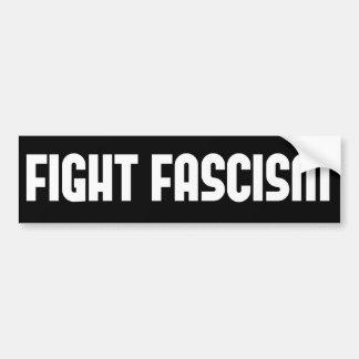 Pegatina Para Coche Fascismo de la lucha