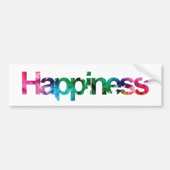 Pegatina Para Coche Felicidad