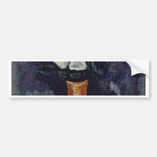 Pegatina Para Coche Flor blanca - Marsden Hartley