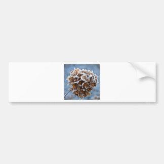 Pegatina Para Coche Flor con cristales de hielo