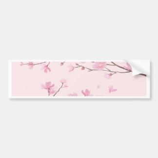 Pegatina Para Coche Flor de cerezo - rosa
