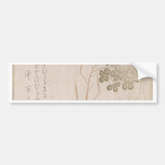 Pegatina Para Coche Flor de Natane - origen japonés - período de Edo