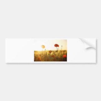 Pegatina Para Coche Flor roja cerca de la flor blanca durante d3ia
