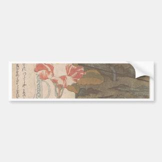 Pegatina Para Coche Florero y caja de la laca - chino