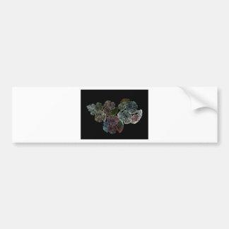 Pegatina Para Coche Flores surrealistas del fractal