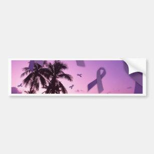 Pegatina Para Coche Flotador de las cintas de la conciencia del lupus a7ef6a699aa06