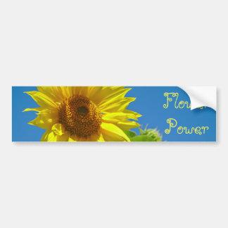 Pegatina Para Coche ¡Flower power! - Girasoles de la primavera