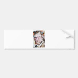 Pegatina Para Coche FOGONERO de BRAM - retrato de la acuarela