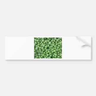 Pegatina Para Coche Fondo del guisante verde. Textura de guisantes