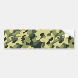Pegatina Para Coche Fondo verde del modelo del camuflaje del negro del