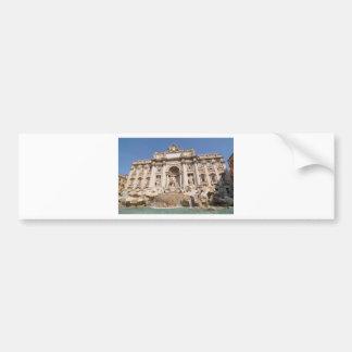 Pegatina Para Coche Fontana di Trevi en Roma, Italia