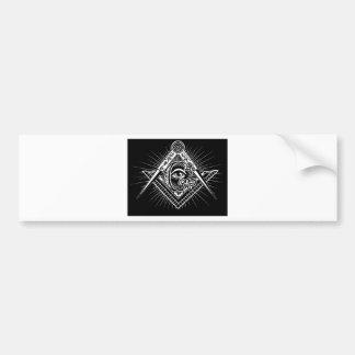 Pegatina Para Coche Freemasonry-Masónico-Albañilería