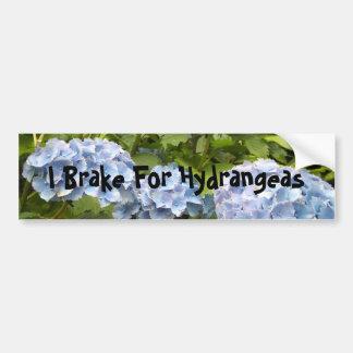 Pegatina Para Coche Freno para los Hydrangeas