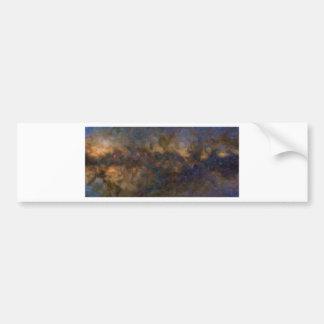 Pegatina Para Coche Galaxia abstracta de Milkyway con la nube cósmica
