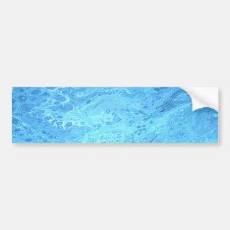 Pegatina Para Coche Galaxia azul