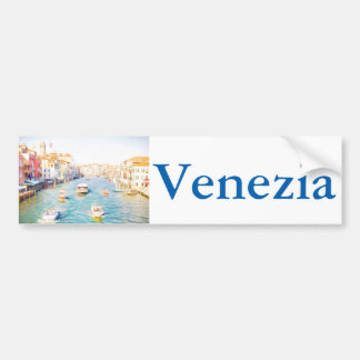 Pegatina Para Coche Gran Canal Venecia