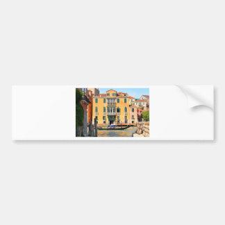 Pegatina Para Coche Gran Canal, Venecia, Italia