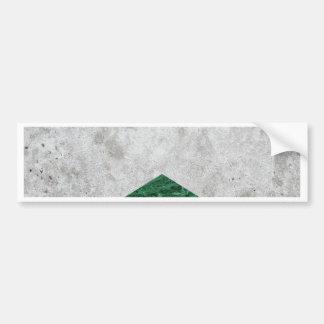 Pegatina Para Coche Granito concreto #412 del verde de la flecha