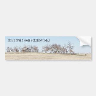 Pegatina Para Coche Granja abandonada de la pradera en Dakota del