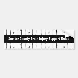 Pegatina Para Coche Grupo de ayuda de encargo de la lesión cerebral de