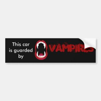 Pegatina Para Coche Guardado por los vampiros