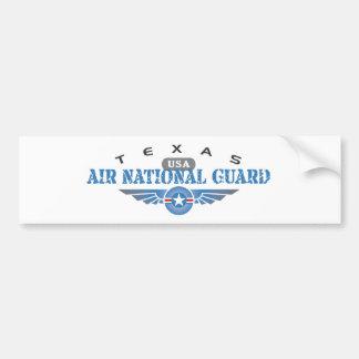 Pegatina Para Coche Guardia Nacional del aire de Tejas