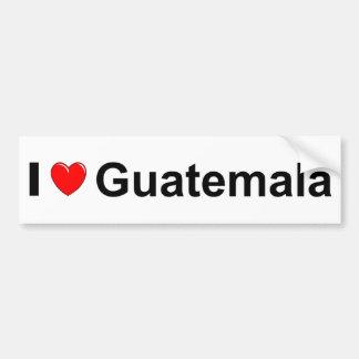 Pegatina Para Coche Guatemala