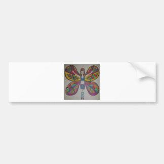 Pegatina Para Coche Hada tribal de la mariposa